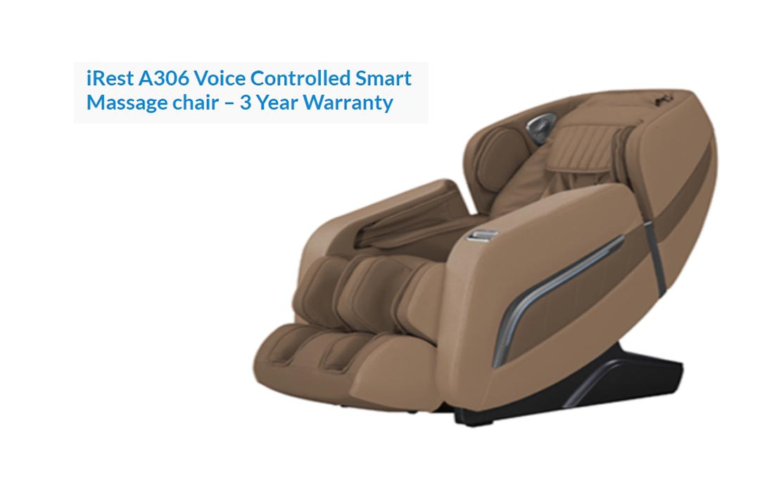 reviews for iRest A306 smart massage chair